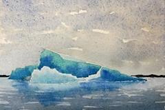 "Iceberg IV // 7x5"""